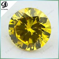 Wuzhou wholesale square cz aaa grade gemstone beads with cheap price