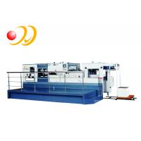 China Electronic Paper Die Cutting Machine High Strength Casting With Stripping Unit wholesale