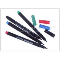 China Colorful Wet Erase Pen for Temporary Marking on Plastic Easily Wiped Off by Wet Fabric wholesale