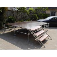Buy cheap Lightweight Unique Layer Aluminum Truss Stage Folding Heavy Load Capacity from wholesalers
