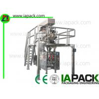 Vertical Automatic Pouch Packing Machine , Automatic Wrapping Machine