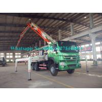 China Zoomlion Sany 34m Placing Depth Truck Mounted Concrete Pump 34X-4Z with Output of 120m³/h Construction Equipment on sale