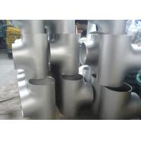 China 1 Inch Stainless Steel Pipe Fittings Sch 10 TP304 / 304L Weld Fittings Tees wholesale
