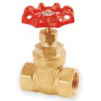 """China Threaded 175Psi 1/2"""" OS & Y Brass Gate Valve For Oil / Gas / Water wholesale"""