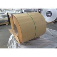 China 1100 1050 H14 Decorative Aluminum Sheet Metal With Kraft Paper / Embossed wholesale