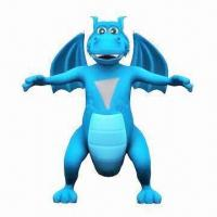 China Plastic Monster Toy, Made of PVC, PP and ABS wholesale