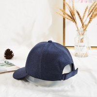 China Custom Fabric Baseball Cap Hats Custom MM Logo Hats Baseball Cap wholesale