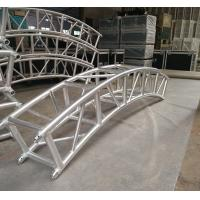 China 400*400mm Aluminum Alloy 6082-T6 Square Spigot Arch Lighting Truss / Aluminum Roof Truss wholesale