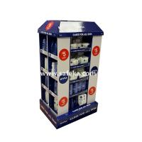 China Cardboard Pallet Displays for Skin Products in Supermarket wholesale