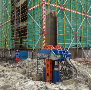 China Excavator/Crane Mounted H-Beam Piles Hydraulic Pile Pulling Machine wholesale