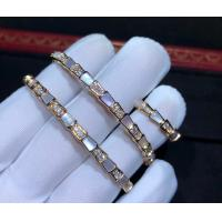 China  Serpenti 18K Gold Diamond Bracelet With White Mother Of Pearl wholesale
