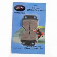 China motorcycle parts: Brake pads for motorcycle, wear resistant wholesale