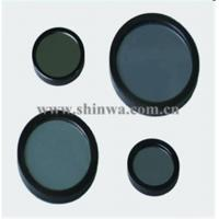 Quality IR cut off filter longpass shortpass colored glass windows for digital use for sale