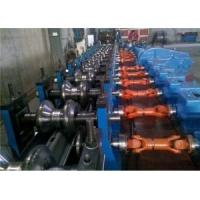 China Automatic Highway W-Beam Guardrail Roll Forming Line Working Speed 5-12m/min Use Groups Gear Reducers wholesale