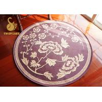Bedroom Round Persian Rugs , Antique Persian Carpets Non - Woven Backing