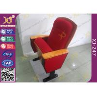 China Sound Absorption Conference Hall Seating Chair With Soft Closing Seat Pad Noise Free wholesale