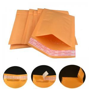 China Self Sealing #0 6x10 Gold Kraft Bubble Mailer Shipping Envelopes wholesale