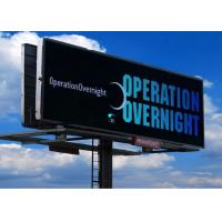 China P10 SMD3535 RGB Outdoor Fixed LED Display Roadside Billboard Great Color Fidelity wholesale
