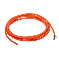 China Orange 8 cores Multimode indoor Fiber Optic Cable for telecommunications wholesale