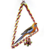 China Bird Flying Trapeze Toys Multi-Color Cotton Swings Budgie Toys wholesale