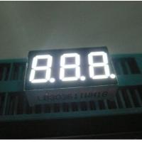 China Three Digit 7 Segment Led Display Pure White Small Seven Segment Display For Electronic Device wholesale