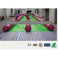 China kids and adult inflatable giant slide 250m long wholesale