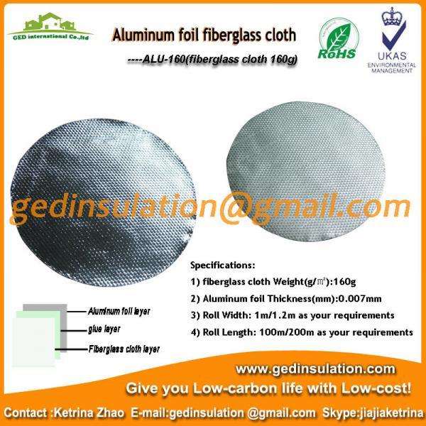 Quality aluminum coated fabric for sale