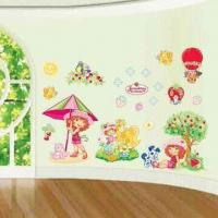 China 3-D Wall Decoration Stickers, Made of Non-toxic and Art Paper, Easy to Apply and Remove wholesale