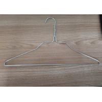 China 18 Inch 2.0mm Galvanized Iron Wire Shirt Hanger For Laundry One Time Use wholesale