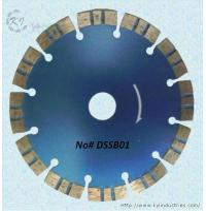 China Diamond Segmented Turbo Saw Blade - DSSB01 wholesale