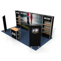 China Custom Print Trade Show Booth Displays , Exhibition Portable Trade Show Booths wholesale
