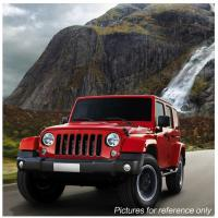 "Quality 60W 7"" Fog Jeep LED Headlights With Hi / Lo H4 Or H13 For Wrangler JK for sale"