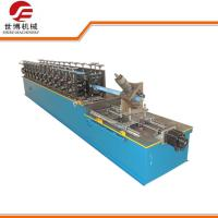 China Light Steel Keel Cold Roll Forming Machine Omega Hat Furring Channel on sale