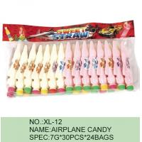 China Strawberry Airplane Low Fat Sour Powder Candy Funny HACCP Certification wholesale