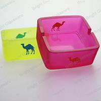 China Hot sale colorful camel glass ashtray for wholesale wholesale