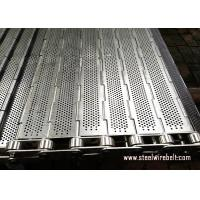 Buy cheap Precise Plate Chain Link Conveyor Belt Durable Knuckled Selvedge Metal Chain Plate from wholesalers