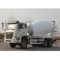 China Commercial Concrete Mixer Truck , Concrete Mixer Trailer Euro2 336HP 6X4 LHD on sale