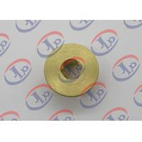 China CNC Turning Brass Nut 0.717 In Outer Diameter With Hex Hole High Strength wholesale