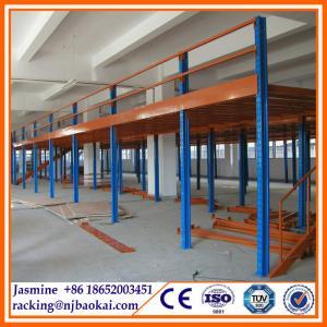 China Warehouse Rack System Warehouse Storage Multi Level Mezzanine Racking wholesale