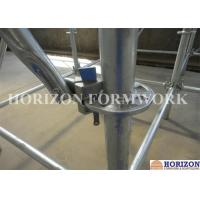 China Flexible Ringlock Scaffolding System , Wedge Lock Scaffolding High Stability wholesale