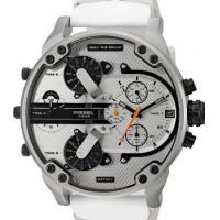 Buy cheap Wholesale DIESEL DZ7401 MR DADDY 2.0 White Multiple Time Zone Chronograph Mens Watch from wholesalers