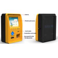 China Portable Information Half Outdoor Touch Screen Kiosks For Bank & Mall With Speaker wholesale