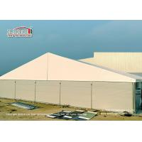China 25 Meter Width Warehouse Marquee Canopy Tent with Steel Sandwich Panels wholesale