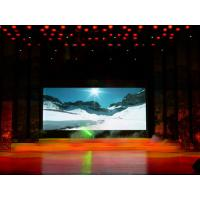 China SMD P10 Indoor Full Color Advertising LED Screen 32 × 16mm 10000 dot / ㎡ wholesale