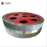 China Gear Transmission Parts Large Steel Casting And Hobbing Metal Herringbone Gear Wheel wholesale