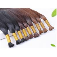 China Double Weft Colored Human Hair Extensions Colored Human Hair Weave wholesale