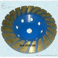 China Thickened Turbo Diamond Cup Grinding Wheel for Concrete - DGWS06 wholesale