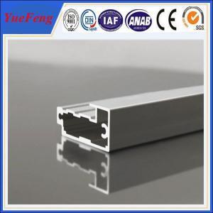 China aluminum frame extrusions/ Custom aluminium extrusion frame for door / aluminum door frame wholesale