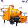 Buy cheap Pully JBT40-P1 compact diesel engine small concrete mixer pump, mini concrete pump, concrete pump from wholesalers