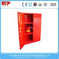 China 2016 Guang Zhou Hopui Laboratory Flammable Liquids Storage Cabinet For Poisonous Chemicals wholesale